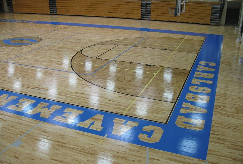 Carlsbad Cavemen High School Gym
