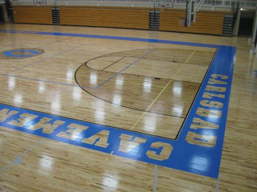 Carlsbad Cavemen High School Gym
