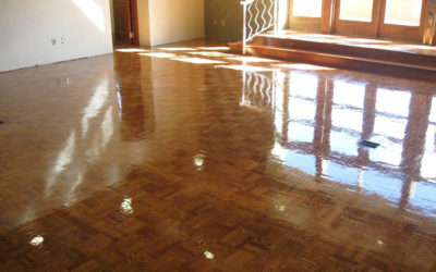 Weekly Sweeping Will Prevent Marring Floors